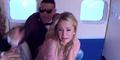 Video: Pesawat Hampir Jatuh, Paris Hilton Histeris Ketakutan