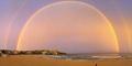 Foto Menakjubkan Pelangi Kembar di Sydney