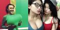 Hot! Goyang Drible Duo Babi Saingan Duo Serigala