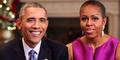 Michelle Obama Pamer Foto Telanjang Dada Barack Obama di Hari Ayah