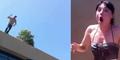 Niat Lamar Pacar Menikah Malah Jatuh dari Atap Gedung