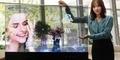 Samsung Hadirkan TV OLED Mirror Transparan