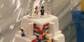 Unik, Kue Pernikahan Berbentuk Lego