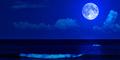 31 Juli 2015, Penampakan Langka Blue Moon
