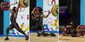 Angkat Besi 105 Kg, Atlet Wanita Pingsan Kehabisan Tenaga