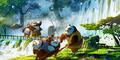 Bocoran Penampakan Kampung Panda di Kung Fu Panda 3