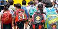 India Larang Siswa Sekolah Bawa Tas Berat