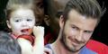 David Beckham Punya Tato Minion Buatan Putrinya, Harper
