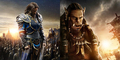 2 Poster Karakter Film Warcraft: Lothar & Durotan