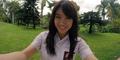 Foto Nabilah JKT48 Selfie Cantik Pakai Seragam SMA