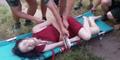 Gagal Bunuh Diri Dari Jembatan 55 Meter, Gadis ABG Patah Tulang
