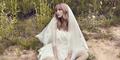 Hyosung Secret Cantik & Seksi Pakai Gaun Pengantin di Majalah InStyle
