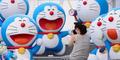 Petani Thailand Jadikan Doraemon Sebagai Pawang Hujan