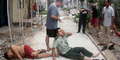 Petugas Polisi Benjut Tertimpa Orang Bunuh Diri