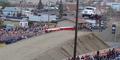 Rekor Baru, Truk Melompat Setinggi 50 Meter