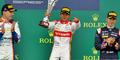 Rio Haryanto Juara, Indonesia Raya Berkumandang Ketiga Kalinya