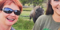 Asyik Selfie, Wanita AS Diseruduk Bison