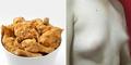 Sering Makan Ayam Goreng, Payudara Pria Jadi Montok
