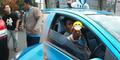Sopir Taksi Arogan, Tabrak Mobil Malah Maki Korban