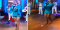 Tampil Live di TV, Pembalut Penyanyi Meksiko Copot