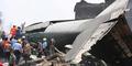 TNI AU: Pesawat Hercules Jatuh Usai Tabrak Antena Radio