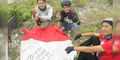 Tragis, Bendera Merah Putih 'Dinodai' di Gunung Talang