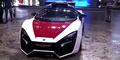 Video Kepolisian Abu Dhabi Pamer Lykan Hypersport