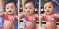 Video Menggemaskan Arsy Anak Ashanty Pakai Bikini Imut