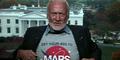 Astronot Pertama Injak Bulan Pimpin Penelitian ke Mars