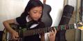 Ayu Guzfans, Bocah 10 Tahun Jago Main Gitar Lagu Dragon Force