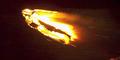 Drone Manusia Api Terbang di New York