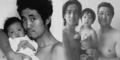 Foto Bapak  & Anak Kompak Pose Serupa Selama 27 Tahun