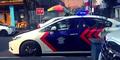 Heboh, 3 Mobil Patwal Kawal Mobil Pengantin Lawan Arus