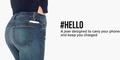 #Hello, Jeans yang Bisa Isi Baterai Smartphone