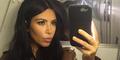 Kim Kardashian Pamer Foto Bugil Bukti Hamil Anak Kedua