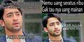 Kumpulan Meme Kocak Shaheer Sheikh 'Aku Ikhlas'