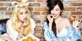 Tiffany SNSD-Bora SISTAR Cantik & Seksi di Majalah Cosmopolitan