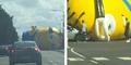 Waduh, Minion Raksasa Menggelinding Bikin Macet Jalanan Dublin