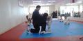 Aksi Lucu Balita 3 Tahun Ujian Taekwondo