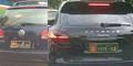 Dicari! Mobil Mewah Pakai Pelat TNI