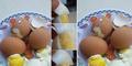 Geger Telur Palsu Campur Plastik Beredar di Bali