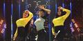 Julia Perez-Duo Serigala Adu Goyang Dribble di Gladi Resik AMI Awards 2015