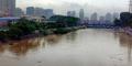 Kini Kualitas Air Sungai Ciliwung Setara Aqua