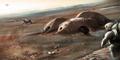 Wow! Arsitek Inggris 'Bangun' Pemukiman di Mars