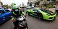 Akhir Pekan, GrabBike Tawarkan Naik Lamborghini Gratis