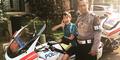 Azka Anak Deddy Corbuzier Diantar Polisi ke Sekolah