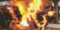 Dituding Tukang Santet, 4 Wanita Ditelanjangi Lalu Dibakar