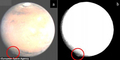 Fenomena Awan Misterius Di Planet Mars