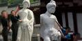 Patung Wanita Tercantik di Tiongkok Jadi Korban Turis Mesum