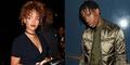 Rihanna-Travis Scott Ketahuan Ciuman Mesra di Klub Malam